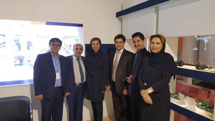 نمایشگاه بین المللی قطعات خودرو لوازم و مجموعه های خودرو تهران ۱۳۹۵