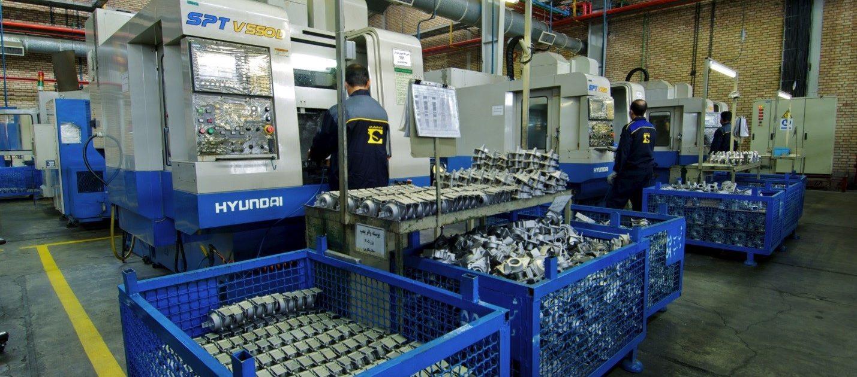 کارخانه شماره 4- قسمت ماشینکاری CNC